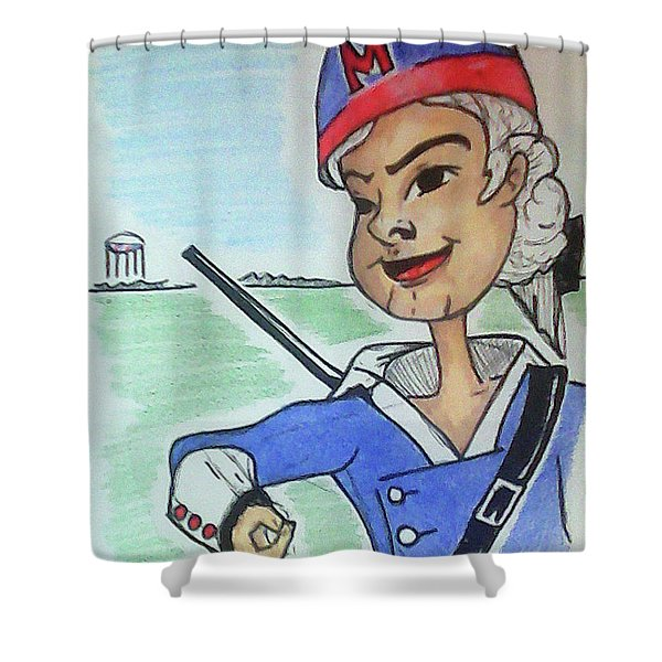 Marion Jr Shower Curtain