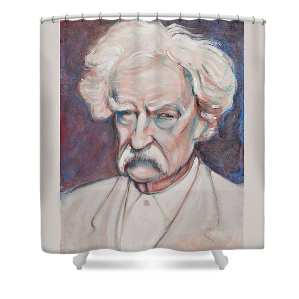Mark Twain Shower Curtain