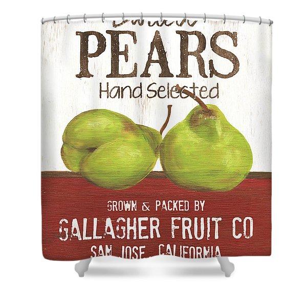 Market Fruit 1 Shower Curtain