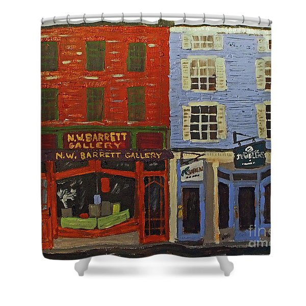 Market Street Duo Shower Curtain