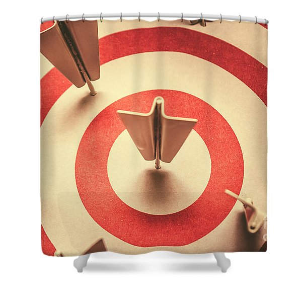 Marketing Your Target Market Shower Curtain