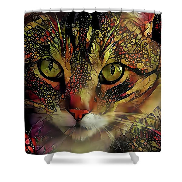 Marmalade In The Morning Shower Curtain
