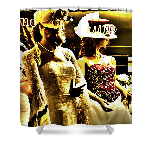 Married Girls Shower Curtain