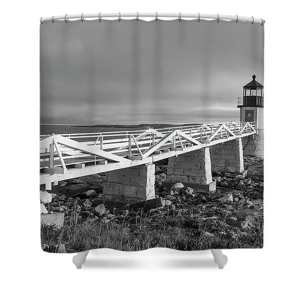 Marshall Point Lighthouse Shower Curtain