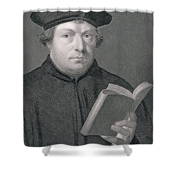 Martin Luther Shower Curtain
