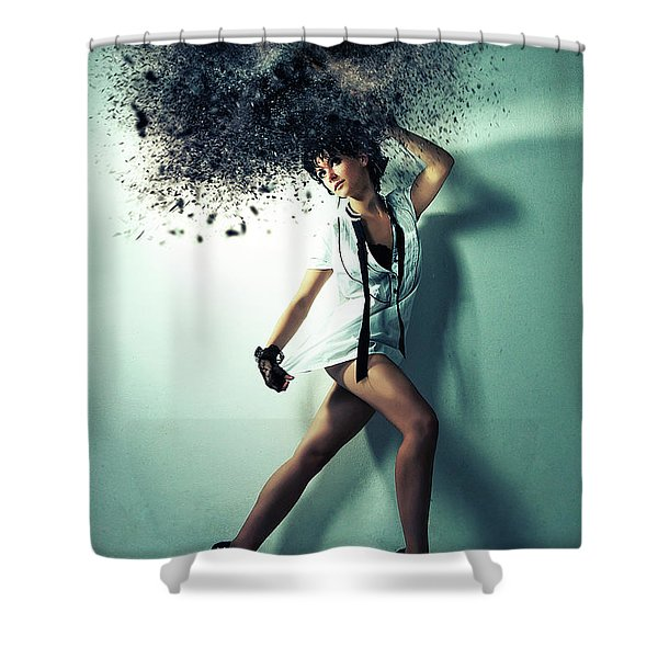 Mary Pop In Shower Curtain