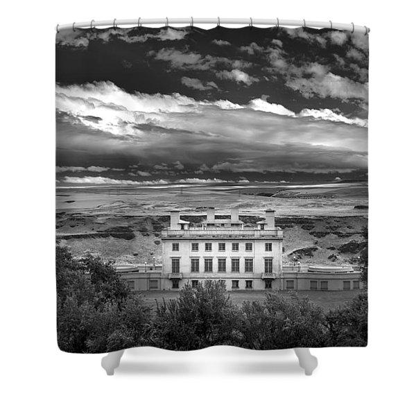 Maryhill In Monochrome Shower Curtain