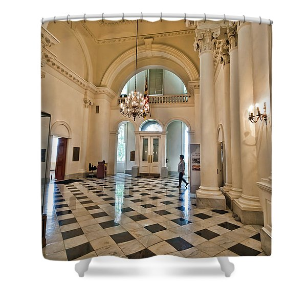 Maryland State House 2 Shower Curtain