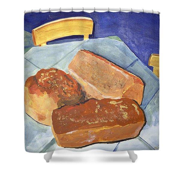 Mary's Bread Shower Curtain