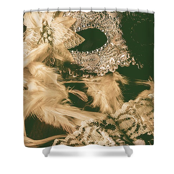 Masking A Playwright Shower Curtain