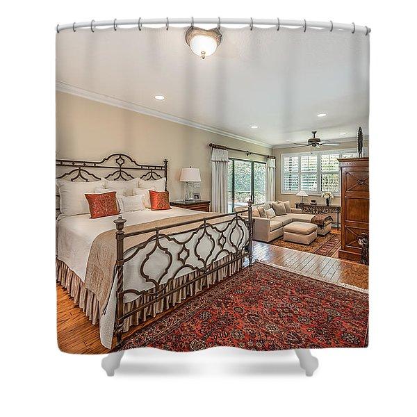 Master Suite Shower Curtain
