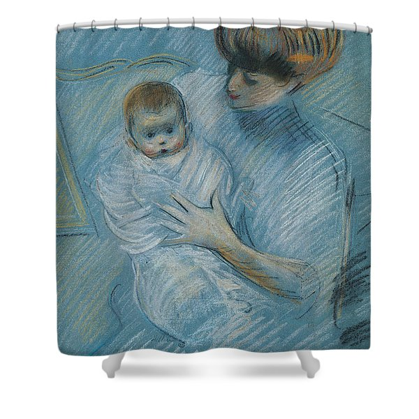 Maternity Shower Curtain