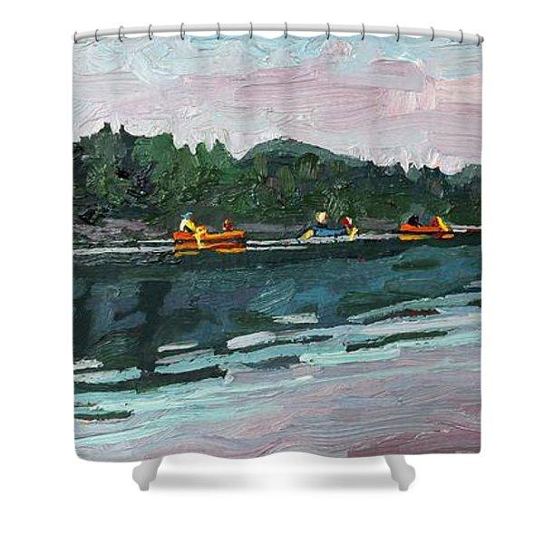 Mattawa Morning Shower Curtain