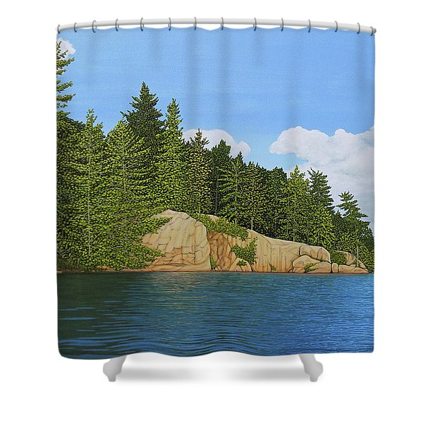 Matthew's Paddle Shower Curtain