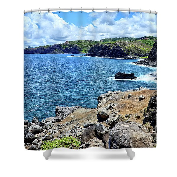 Maui North Shore Shower Curtain