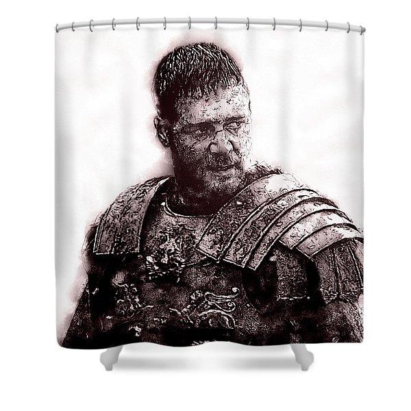 Maximus Decimus Meridius - 03 Shower Curtain