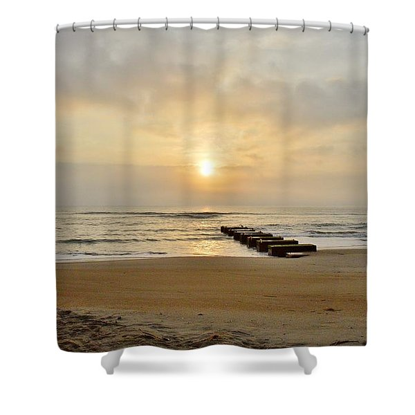 May 13 Obx Sunrise Shower Curtain