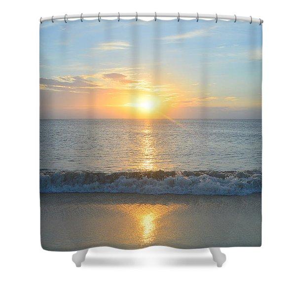 May 23 Sunrise Shower Curtain