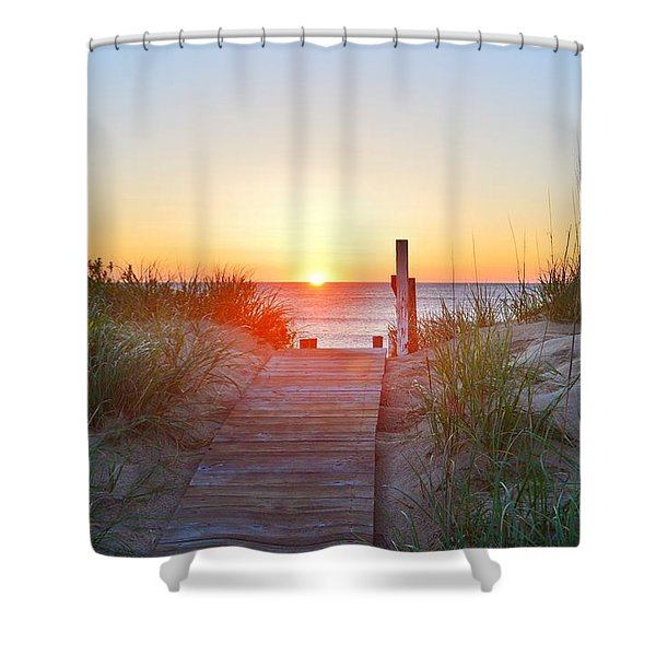 May 26, 2017 Sunrise Shower Curtain