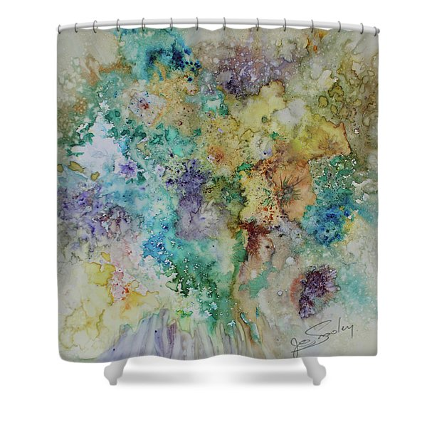 May Flowers Shower Curtain