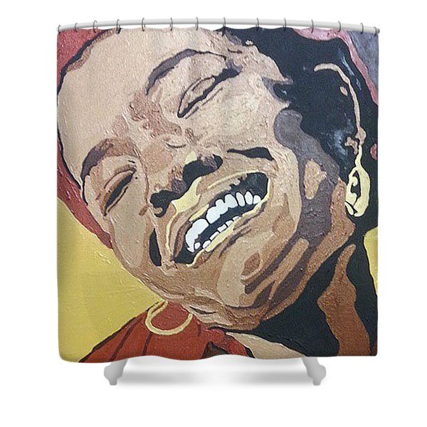 Maya Angelou Shower Curtain
