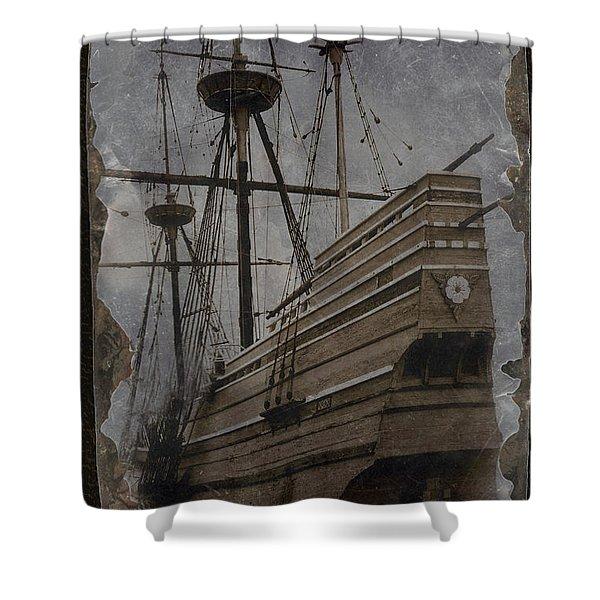Mayflower 1 Shower Curtain