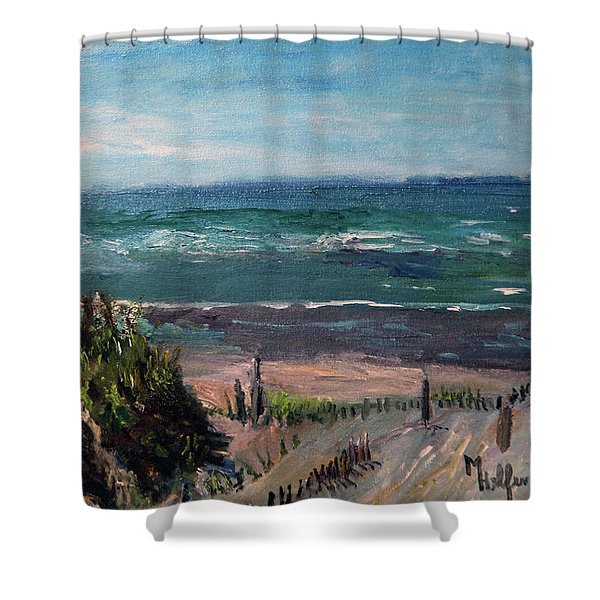 Mayflower Beach Shower Curtain