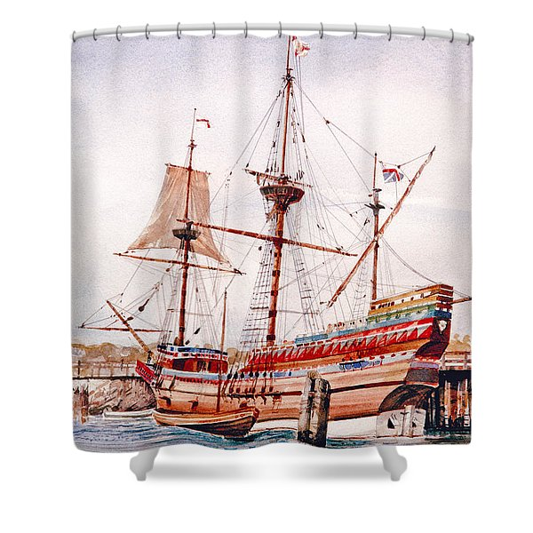 Mayflower II  Shower Curtain
