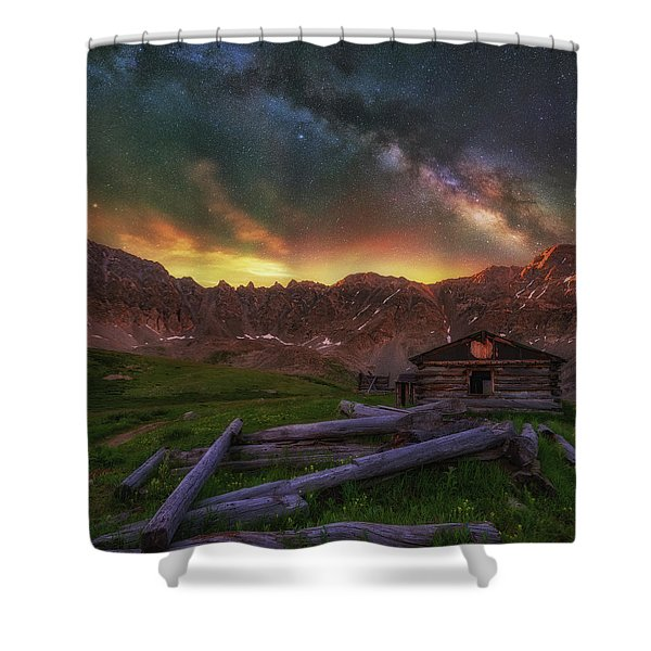 Mayflower Milky Way Shower Curtain