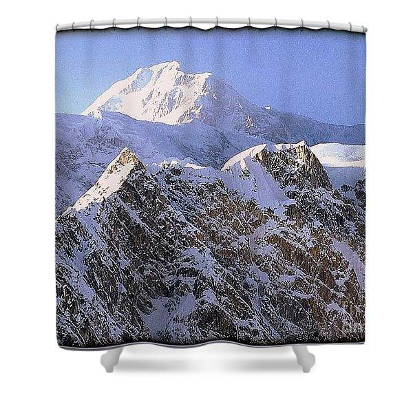 Mc Kinley Peak Shower Curtain