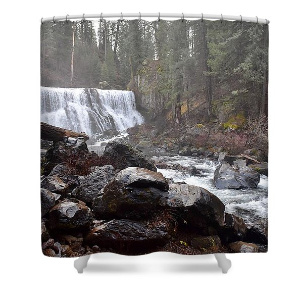 Mccloud Middle Fall Shower Curtain