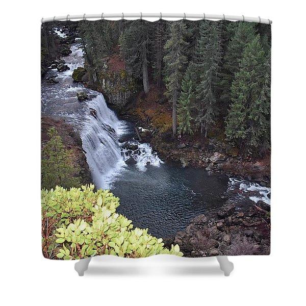 Mccloud River Falls Shower Curtain