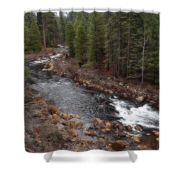 Mccloud River Shower Curtain