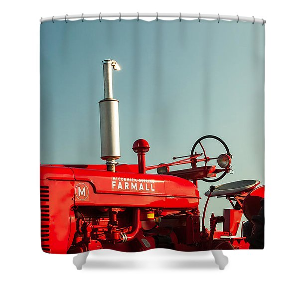 Mccormick-deering Farmall M Shower Curtain