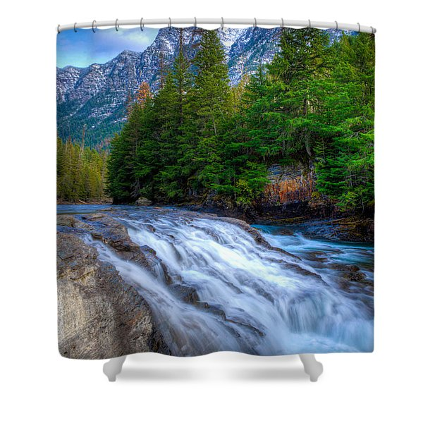 Mcdonald Creek Shower Curtain