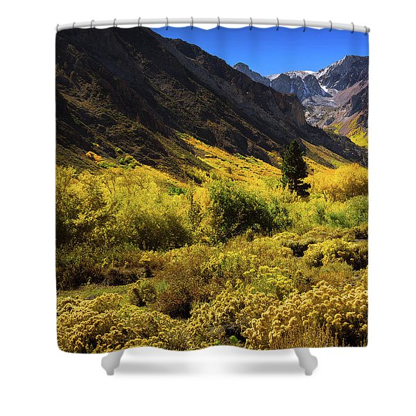 Mcgee Creek Alive With Color Shower Curtain