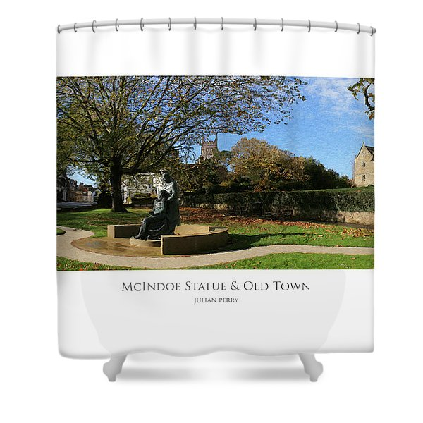 Mcindoe Statue Shower Curtain