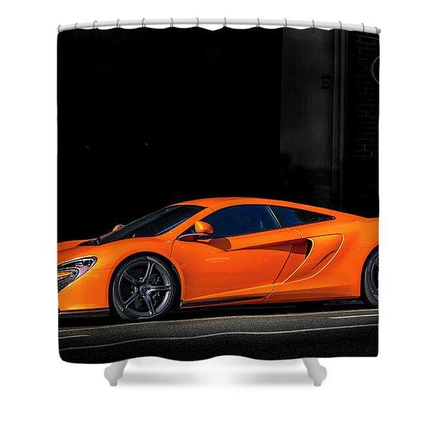 Mclaren 650 S  Shower Curtain