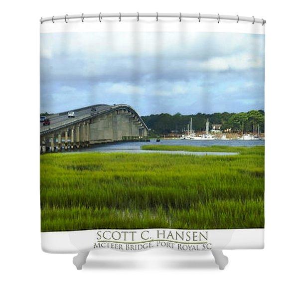 Mcteer Bridge Shower Curtain