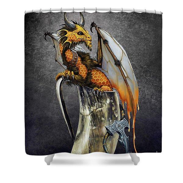Mead Dragon Shower Curtain