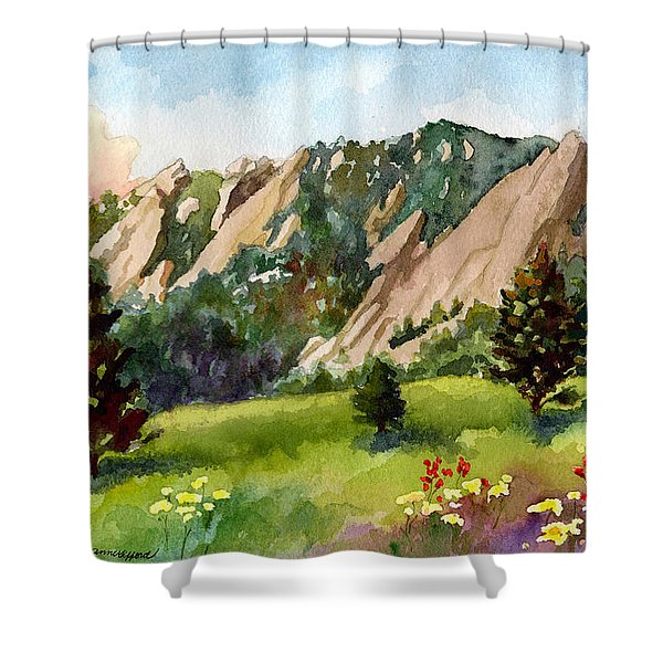Meadow At Chautauqua Shower Curtain