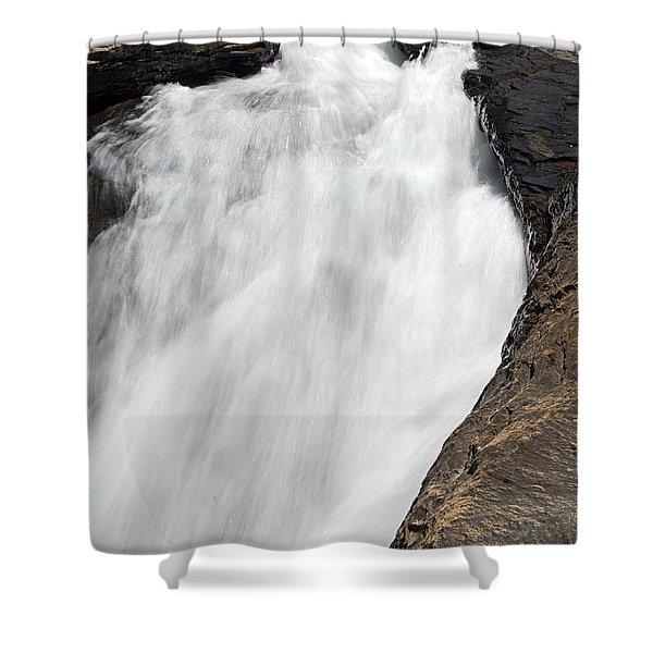 Meadow Run Water Slide 1 Shower Curtain