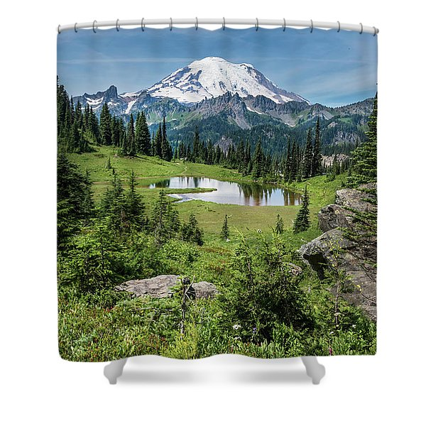 Meadow View Shower Curtain