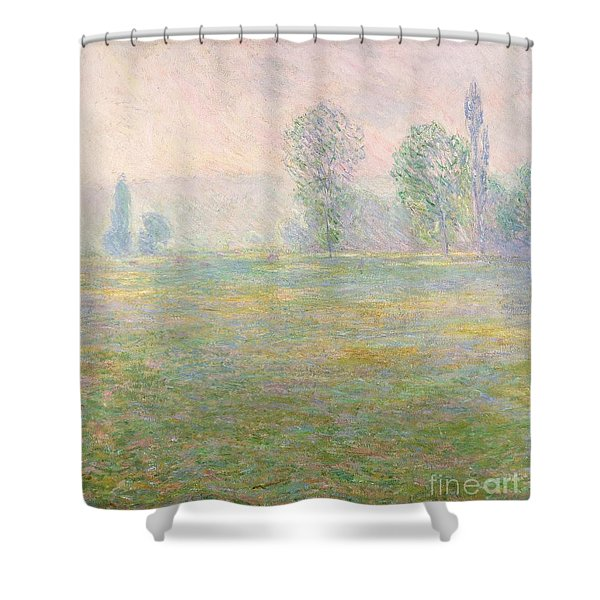 Meadows In Giverny Shower Curtain