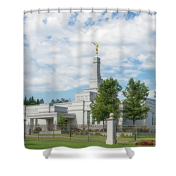 Medford Temple Shower Curtain