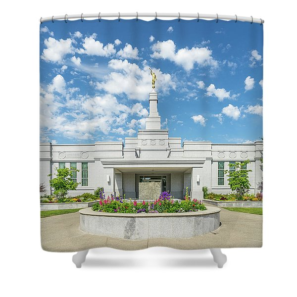 Medford Temple Front Shower Curtain
