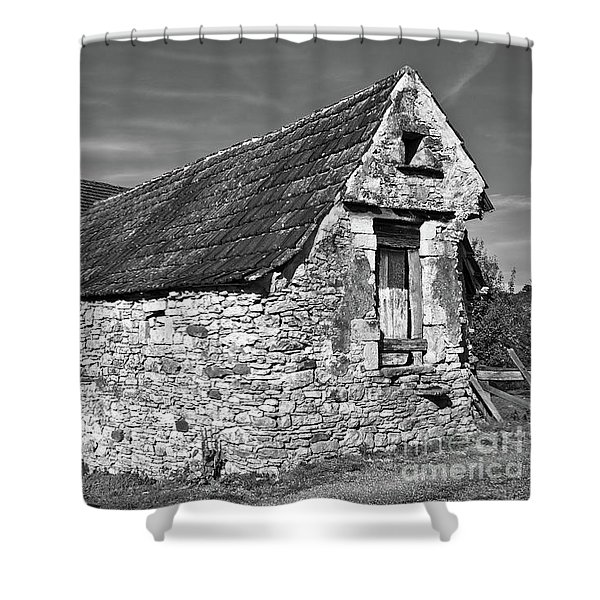 Medieval Country House Sound Shower Curtain