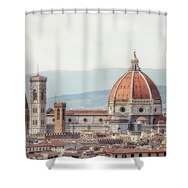 Medieval Echoes Shower Curtain