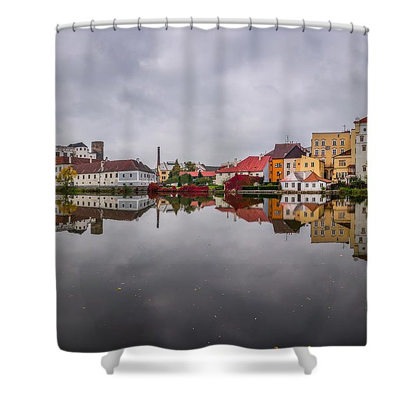 Medieval Symphony Shower Curtain