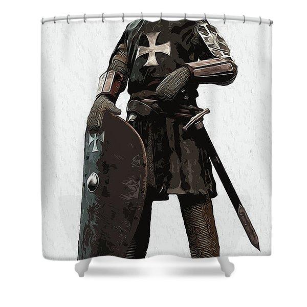 Medieval Warrior - 06 Shower Curtain